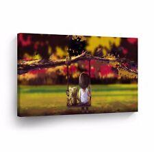 Modern Oil Painting on Canvas Print Wall Decor Art Framed %100 Handmade OPH4
