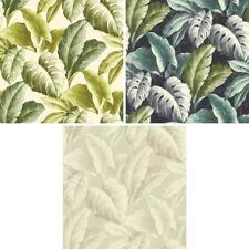 Grandeco Botanical Tropical Leaves Pattern Wallpaper Tree Leaf Textured Motif