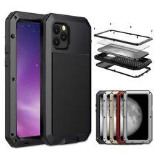 Protection Robuste Aluminium Antichoc Iphone 11 Pro Max XR XS MAX 6 6S 7 8 Plus