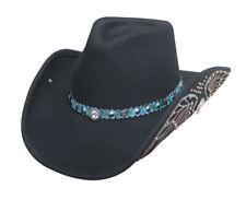 Montecarlo Bullhide NOBODY BUT YOU  Premium Wool Black Cowboy Hat  0702 BL