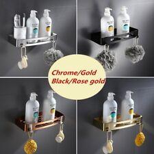 Bathroom Shampoo Lotion Tray Holder Bath Caddy Rack Storage Rectangle SUS304