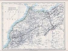 1912 MAP ~ Marocco ~