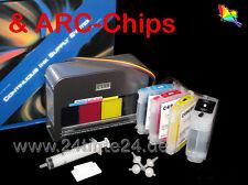 Ciss Schlauchsystem & ARC Chips Box HP Officejet 8000 8500 940 XLTinte Ink C4909