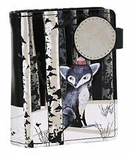 Shagwear Flora and Fauna Short Bifold Zipper Wallets (Choose Design)