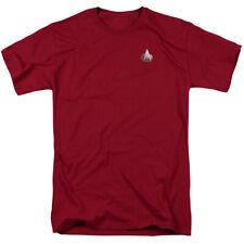 Star Trek Next Generation Command Emblem Licensed Adult T Shirt