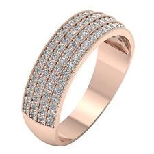 Genuine Diamond SI1 H 0.90Carat Engagement Wedding Rind Appraisal 14K Solid Gold