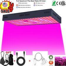 5000W LED Grow Light Strip Hydroponic Full Spectrum Veg Flower Plant Lamp Panel