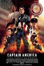 NEW CAPTAIN AMERICA THE FIRST AVENGER MOVIE ORIGINAL CINEMA PRINT PREMIUM POSTER
