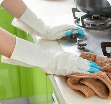 Rubber Dish Washing Cleaning Gloves Kitchen Householder Dishwashing Waterproof