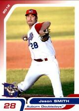 2012 Auburn Doubledays Grandstand 32 Jason Smith Morrison Illinois Baseball Card