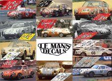 Calcas Porsche 911S Le Mans 1970 1:32 1:24 1:43 1:18 slot decals