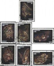 Tansania 2086-2092 (kompl.Ausg.) gestempelt 1995 Fledertiere EUR 5