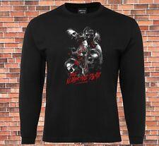 JB's Long Sleeve Black T-shirt The walking dead Cool Design