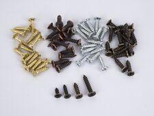 50 / 100 Kreuzschlitz Minischrauben 2.5x6 2.5x10 3x12 3x16mm antik gold silber
