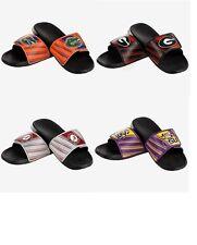 Mens NCAA Legacy Sport Slide Water Sandals Flip Flops - Pick Team