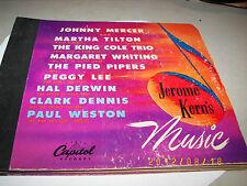"""Jerome Kern's Music Various Artists 4x78 Set 10"""" CD-41"""