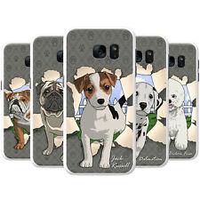 Romper a través de los perros Snap-On teléfono Funda Rígida posterior Cubierta para Teléfonos Móviles Samsung