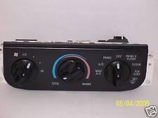 1998 1999 2000 Ford Explorer Temperature Control Switch