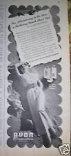 1942 AVON Cosmetics Cologne Adventure in Sun Ad