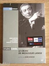 LE CRIME DE MONSIEUR LANGE - JEAN RENOIR - DVD