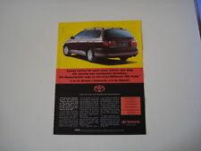advertising Pubblicità 1995 TOYOTA CARINA SW 2.0 GLE