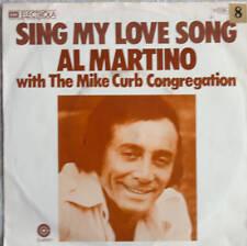 "7"" 1975 RARE ! AL MARTINO : Sing My Love Song /MINT-?"