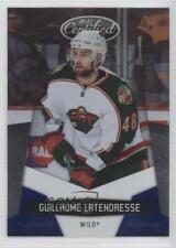 2010 Certified Platinum Blue 74 Guillaume Latendresse Minnesota Wild Hockey Card