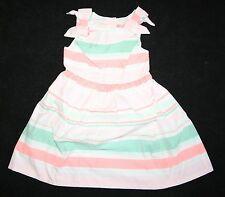 New Gymboree Island Cruise Summer Neon Striped Dress NWT 2T 3T 4T 5T