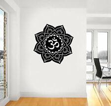 AUM OM lotos yoga Vinyl Wall Car Decal Sticker, BIG or SMALL, Highest Quality