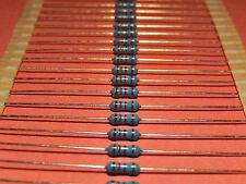 1/4 Watt Metal resistencias de película de 100kohm ~ 910k Ohm multi-variation anuncios
