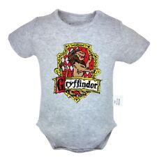 Gryffindor Printed Newborn Jumpsuit Unisex Baby Romper Bodysuit Clothes Outfits