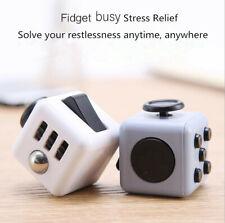 3D Fidget Hand Finger Spinner Cube Focus Stress Reliever Toy For Kids Gift HOT