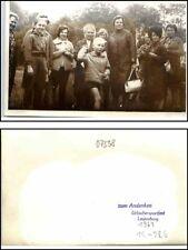 LEUTENBERG Thüringen Echtfoto-AK 1967 Urlauber Sportfest Kinder Personen Frauen