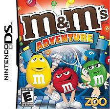 M&M's Adventure for Nintendo DS L@@K New !!!!!!