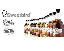 Sweetbird Syrup 1 Litre - Pumpkin Spice, Vanilla, Hazelnut, Caramel or Pump