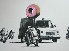 249435 Banksy Street Donut Police Art WALL PRINT POSTER FR