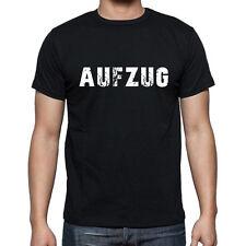 aufzug, Herren Tshirt Schwarz, Hommes Tshirt Noir, Geschenk, Cadeau
