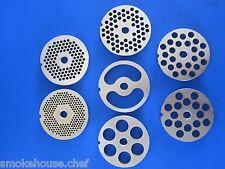 Size #22 Grinding plate disc for LEM Hobart Meat grinder 4822 4222 4622 etc