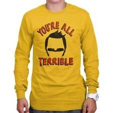 All Terrible Funny Gift Cool Bobs Burgers Cute Cartoon Gene Long Sleeve Tee