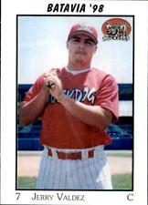 1998 Batavia Muckdogs Team Issue #30 Jerry Valdez El Paso Texas TX Baseball Card