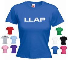 'LLAP' Leonard Nimoy Spock Live Long and Prosper Girls Ladies Star Trek T-shirt