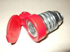 Schnellkupplung Muffe 15L BG3 mit Staubschutzkappe rot oder schwarz - Hydraulik
