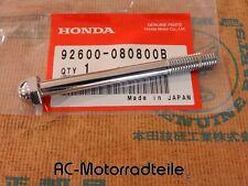 Honda CBX 1000 Chrom Schraube Haltebügel Befestigung Bolt Rear 92600-080800B