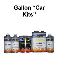 100 Series Solid Color Basecoat Clearcoat Car Paint Kits Low VOC