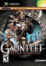 GAUNTLET SEVEN SORROWS ORIGINAL XBOX DISC ONLY