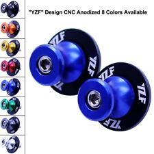 YZF 6mm Swingarm Sliders Spools Stand Bobbins for Yamaha YZF R1 R6 R6S 600R 750R