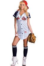 Sexy Grand Slam Baseball Star Sports Adult Halloween Costume