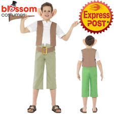CK733 Roald Dahl BFG Friendly Giant Boys World Book Week Fancy Dress Kid Costume
