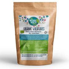 Organic Wheatgrass Powder Grown In New Zealand • Helps Detox Cleanse 50g - 800g