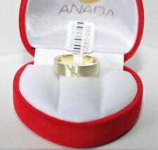 1 Trauring Ehering Hochzeitsring Gold 585 mit Zirkonia - Breite 4mm -  Top Preis